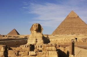 Agypten Pyramiden Sphinx