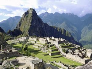 Inka-Stadt Machu Picchu in Peru