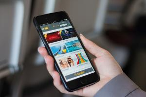 Condor Sunstream auf einem Smartphone