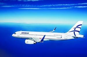 AEGEAN Airbus A320 mit Sharklets
