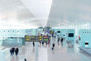 Flughafen Barcelona Terminal