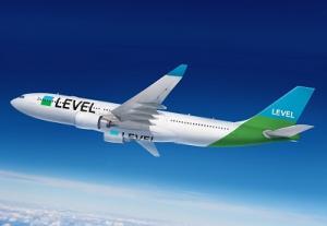 Level A330 waehrend des Flugs