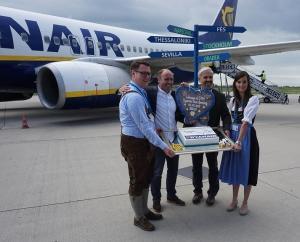 Ryanair eröffnet Basis in Memmingen