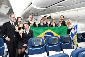 Condor Erstflug München Recife