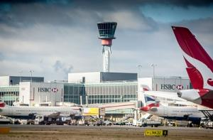Heathrow Vorfeld und Tower