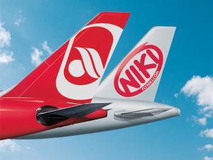 Heck Flugzeug Air Berlin und Niki