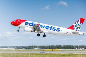 Edelweiss Airbus A320 Start