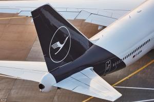 Lufthansa Boeing 747 Heckflosse Frankfurt