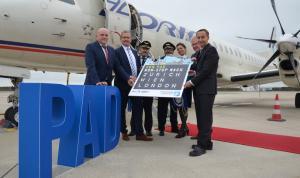 Adria Airways Erstflug Paderborn