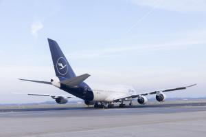 Lufthansa Boeing 747 Düsseldorf