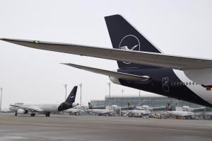 Lufthansa Boeing 747 München Heckflosse