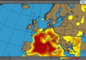 Eurocontrol Wetter 7.8.2018
