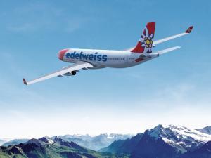 Edelweiss Airbus A330 Flug