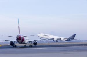 Lufthansa Boeing 747 Start Eurowings Airbus A320 Düsseldorf