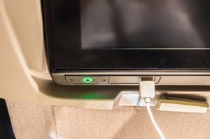 USB-Anschluss Flugzeug