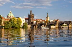 Tschechien: Prag Karlsbrücke