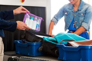 Flughafen Gepäck Sicherheitskontrolle