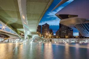 Spanien: Valencia Ciutat de les Arts i les Ciències