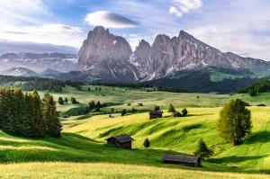 Italien: Südtirol, Seiser Alm