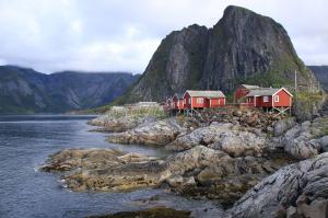 Norwegen: Lofoten Reine © Volkmann