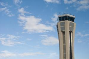 Flughafen Malaga Tower Getty