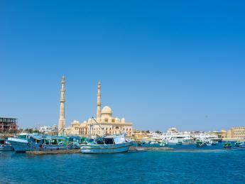 Aldahaar Moschee - Hurghada