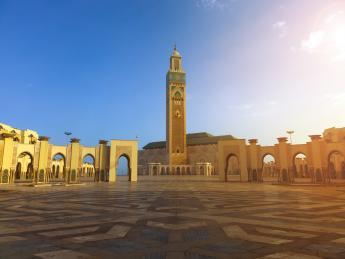 Hassan-II.-Moschee - Casablanca