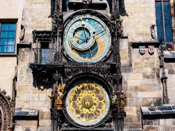 Astronomische Uhr - Prag