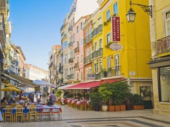 Baixa Pombalina - Lissabon