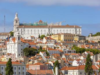 Kloster São Vicente de Fora - Lissabon