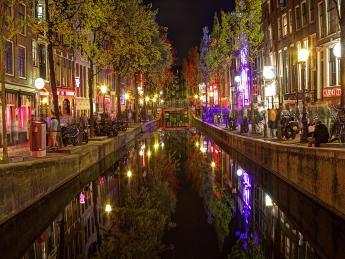 Rotlichtviertel, De Wallen - Amsterdam