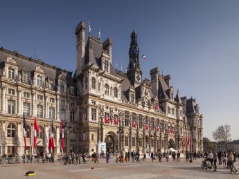 Hôtel de Ville, Rathaus - Paris
