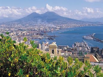 Neapel am Vesuv - Neapel