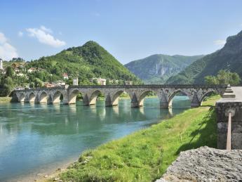 Drinabrücke - Bosnien und Herzegowina