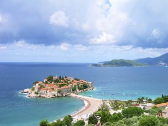 Sveti Stefan island - Sveti Stefan