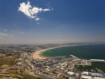 Küste und Hafen - Agadir