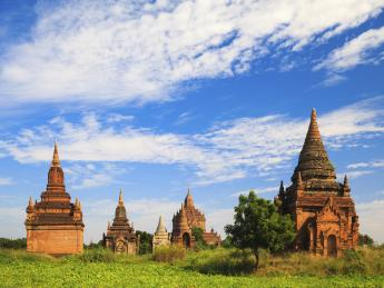 Tempel von Bagan - Bagan