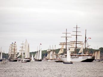 Segelregatta - Kiel