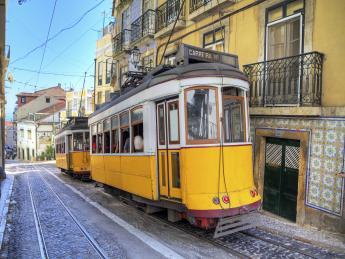 Straßenbahn in Lissabon - Lissabon