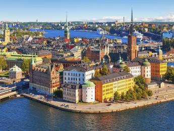 Insel Riddarholmen - Stockholm - Riddarholmen