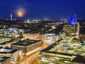 Hannover bei Nacht - Hannover