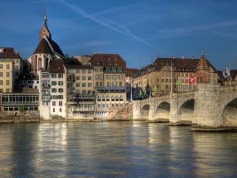 Mittlere Brücke - Basel