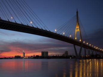 Rama-VIII-Brücke - Bangkok