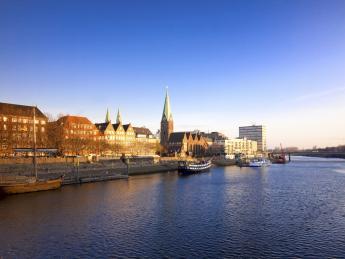 Uferpromenade - Bremen