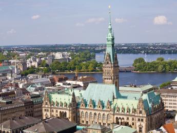 Hamburger Rathaus - Hamburg