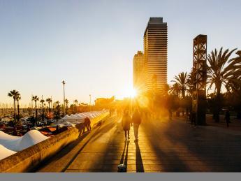 1174+Spanien+Barcelona+Port_Olimpic+GI-641122902