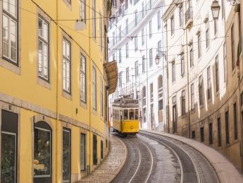 Historische Straßenbahn - Lissabon