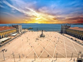 Praça do Comércio - Lissabon