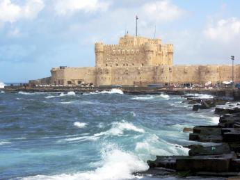 3673+Ägypten+Alexandria+Quaitbay-Zitadelle+GI-168930639