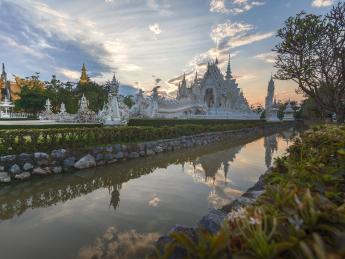 Der weiße Tempel - Chiang Rai